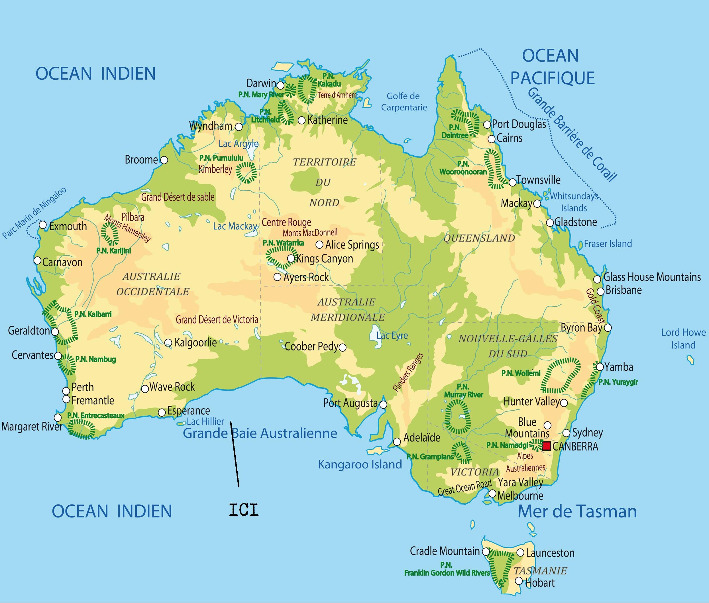 Carte Geologique Australie.Cabinet De Curiosites 20 Geologiques Lac Hillier Australie Le