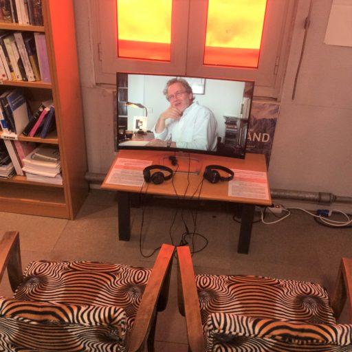 Didi-Huberman Herré La Table des Matières installations Ombres Blanches Toulouse