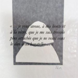 Guilleragues lettres portugaises Sébastien Le Roy gravures linogravures librairie ombres blanches toulouse